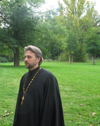 Протоиерей Сергий Бабурин, настоятель храма в Гамбурге